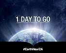 Only one day to go to #EarthHourZA!