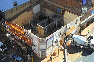 Progress on the Braamfontein build as at 30 May 2014.