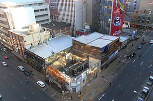 Progress on the Braamfontein build as at 2 June 2014.