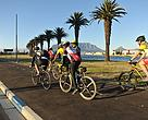 In Milnerton and other parts of the city, Cape Town has introduced bicycle lanes to encourage the use of low-carbon transportation.