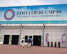 The COP20 venue in Lima, Peru