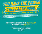 Join the #EarthHourSA Twitter chat #EHChat on Wednesday, 25 March 2010.