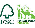 The new strapline - Forests For All Forever - reaffirms the FSC vision of saving the world's forests for future generations.