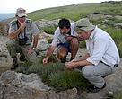 Grasslands Assessment with government officials and representatives from WWF-SA and BirdLife South Africa work with landowners to assess the biodiversity value on their property, as part of the Biodiversity Stewardship Programme