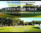 The Renewable Energy Festival venue is the Green Point Track in Cape Town.