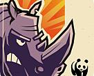 Download the WWF Rhino Raid app.