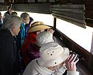 Donors and supporters were treated to a session of bird-spotting at the Geelbek Bird Hide.