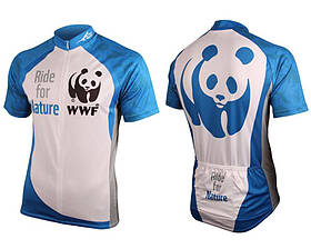 / ©: WWF Mens Cycle Jersey made by First Ascent