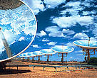 Solar Power Station at White Cliffs, New South Wales, Australia