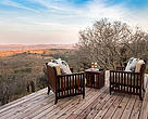 A two-night stay at the Rhino Ride Safari Lodge is up for grabs if you donate your Voyager Miles to WWF South Africa.