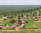Village of a local community on the western border of the Kruger National Park