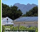 South Africa has some of the highest levels of solar irradiation in the world, and while both domestic and industrial use of PV to generate electricity has gained traction, the use of solar thermal for industrial process heat has not attracted much attention.