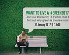 Join our #Green2017 Twitter chat and find out why green is the new cool.